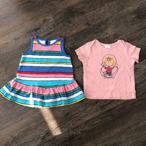 Hanna Anderson shirt bundle